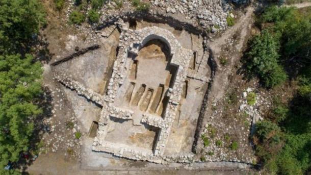 Church 16 discovered at Cherven medieval citadel. (Image: Divulgação/Museu Regional de História)