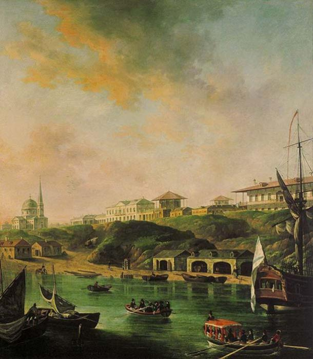 'View of the city of Nikolaev.' (Public Domain)