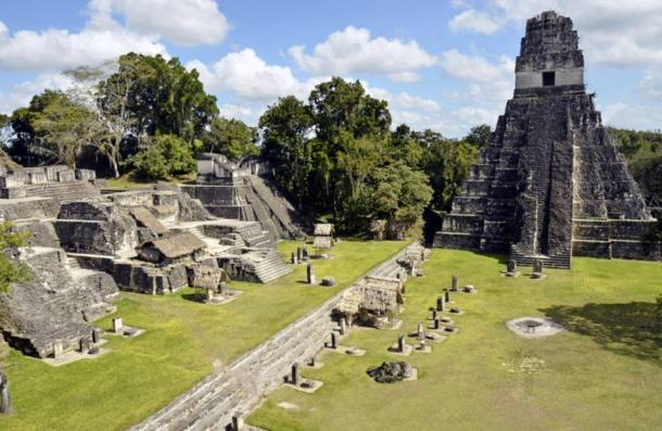 The once great city of Tikal, Guatemala
