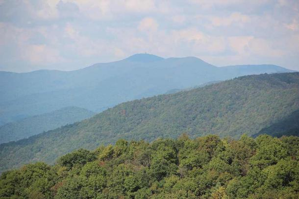 "Some people have ""claimed"" that Brasstown Bald, Georgia's highest peak, was an ancient Mayan site. It's not far from Trap Rock Gap. (Thomson200 / CC0)"