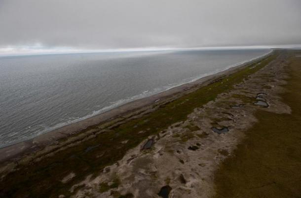 The coast of Bering Land Bridge