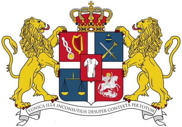 Coat of Arms of the Royal House of Bagrationi. (ComtesseDeMingrelie / CC BY-SA 3.0)