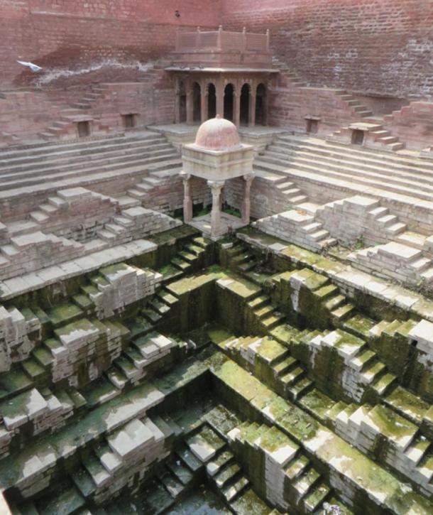 A huge, complex stepwell in Jodhpur