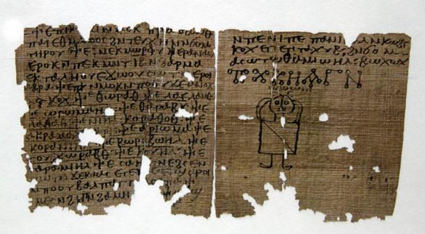 A coptic codex with magic spells