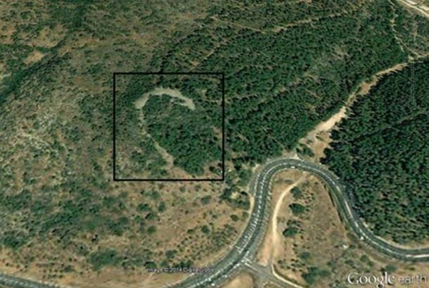 About 8 miles (13 kilometres) northwest of the Sea of Galilee, a recently identified crescent-shaped monument was built about 5,000 years ago