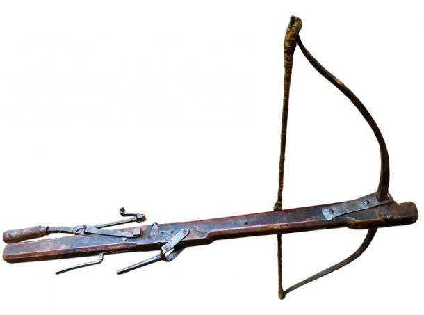 A crossbow