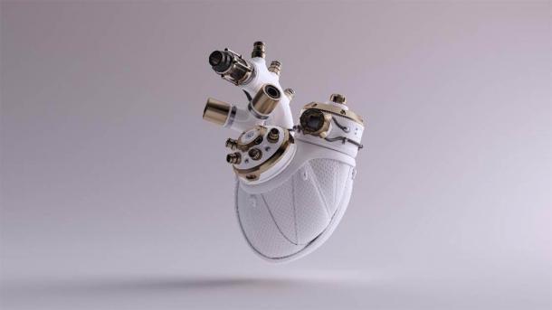 A cybernetic heart. (paul /Adobe Stock)