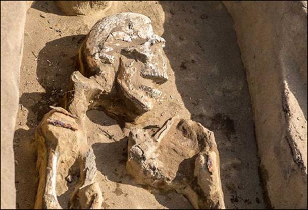 Work is underway to analyze the skeleton to determine more about the 'dancer' from the dark ages.
