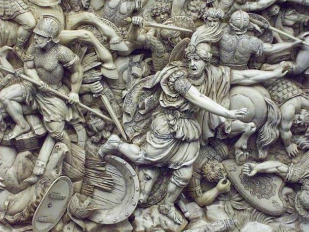 Darius fleeing the battle. (Luis García/CC BY SA 3.0)