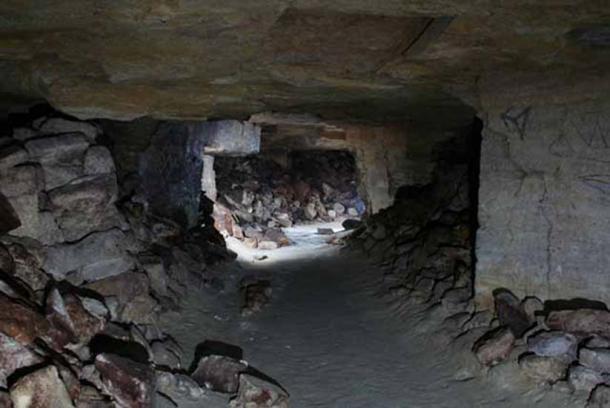 The dark passageways of catacombs. Representative image.