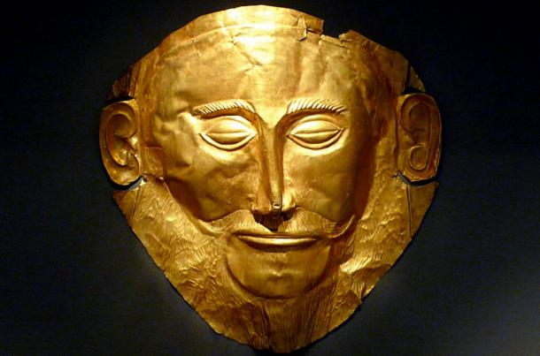 The Golden Death Mask of Agamemnon - Greece