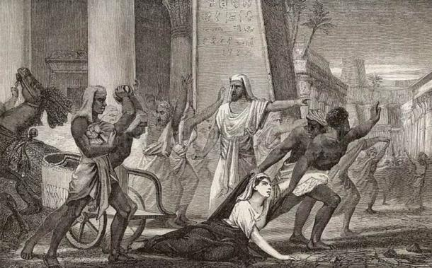 Death of the philosopher Hypatia, in Alexandria