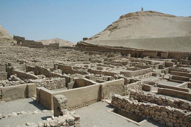 """Ancient Egyptian workmans village """"deir el-medina"""