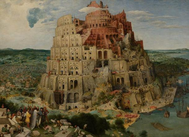 Pieter Bruegel the Elder's depiction of the Tower of Babel