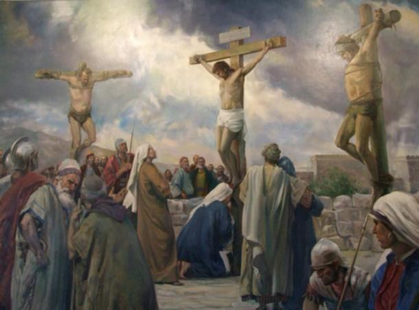 Depiction of the crucifixion of Jesus (Travis / CC BY-NC 2.0)