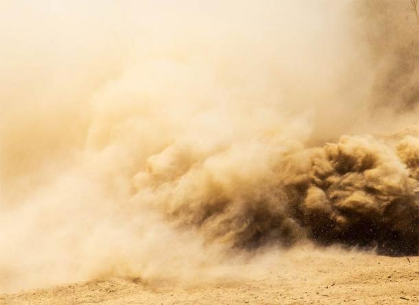 Dust deposits carried by the wind to other places created fertile soils in the Fertile Crescent. (shankz / Adobe Stock)