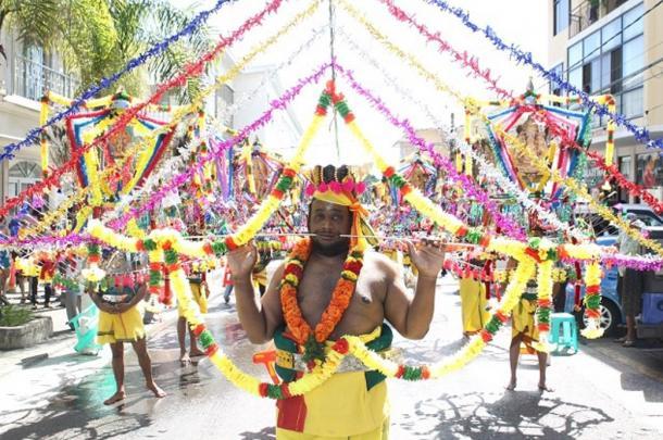 A devotee of Lord Murugan