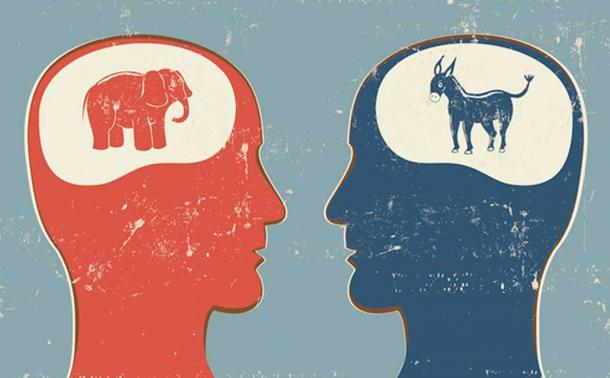 Research has shown differences between the brains of Republicans and the brains of Democrats.