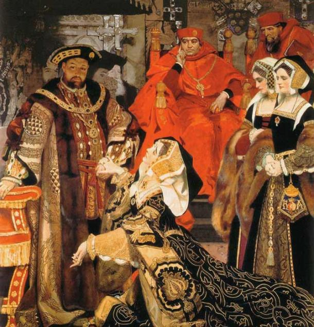 The divorce of Catherine of Aragon and Henry VIII has gone down as one of the worst in history. (Tudor tidbits / CC BY-SA 4.0)