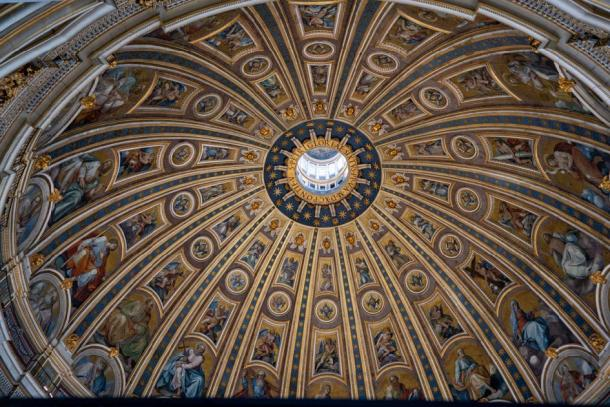 The dome of St Peter's Basilica. Credit: Ioannis Syrigos