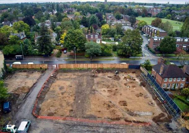 Image taken from arial drone footage of the site. (Dronescapes / Kings College)