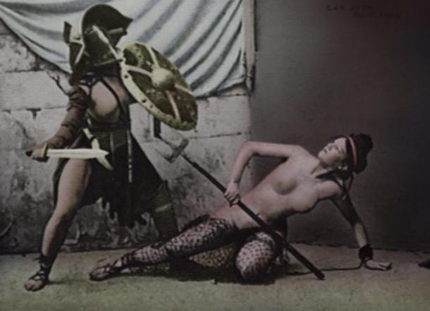 Women use gladiator for sex