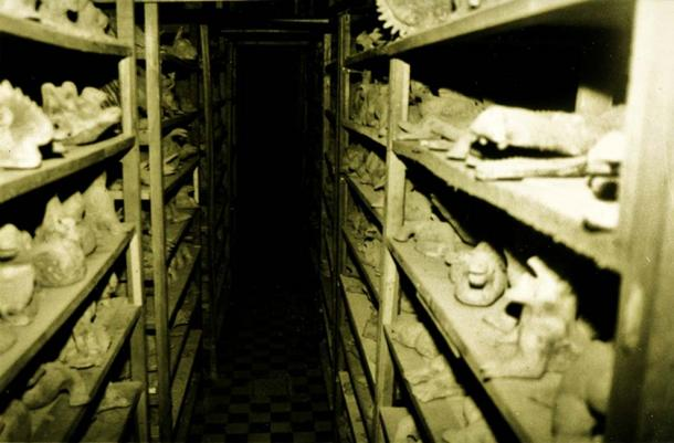 Hundreds of eerie sculptures in the once-secret collection.
