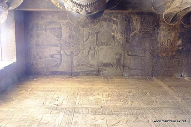 Egyptian scene with demons (Image: Courtesy Chris Morgan)
