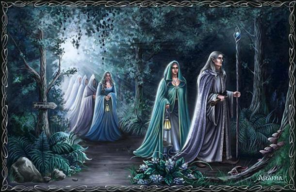 Middle-Earth-like elves by artist