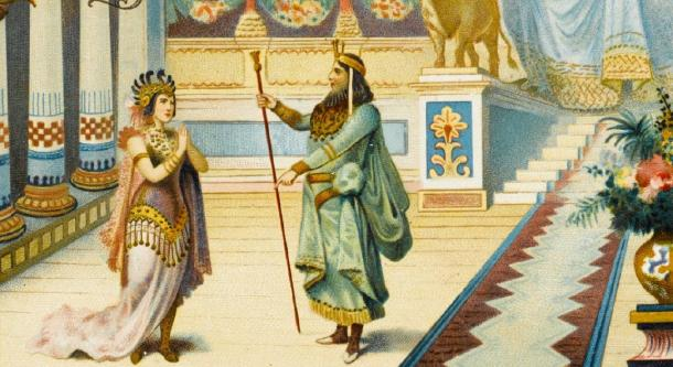 Many embellishments, such as the glass floor story, have been written about the Queen of Sheba. (Archivist / Adobe Stock)