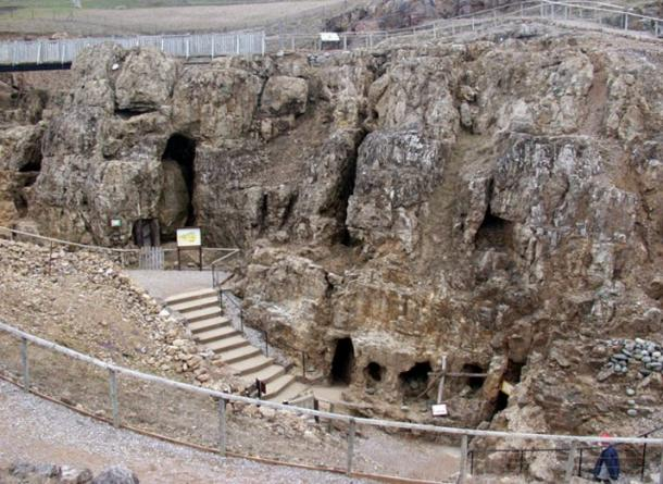 The entrance to the Bronze Age Great Orme copper mine