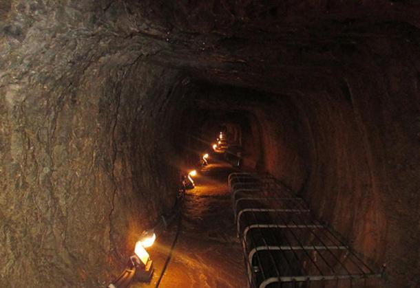 Tunnel of Eupalinos (Eupalinian tunnel)