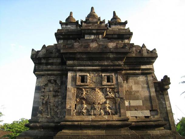 An example of fine candi or temple on Java