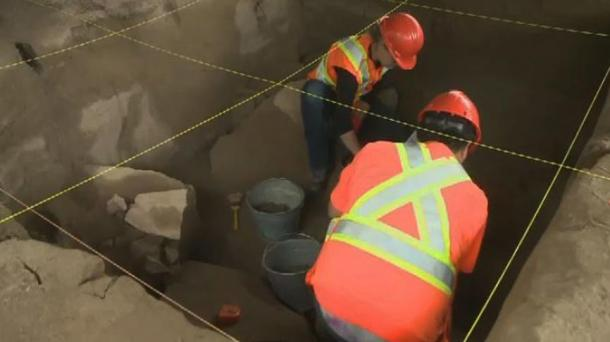 Several First Nations archaeologists and technicians are helping to excavate a site that was home for part of the year to what may have been their very distant ancestors.