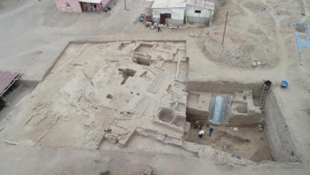 The excavation site. (Ministerio de Cultura)