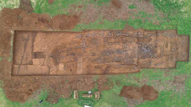 Viking age excavation site at Stöð. (Image: Bjarni F. Einarsson / Iceland Review)