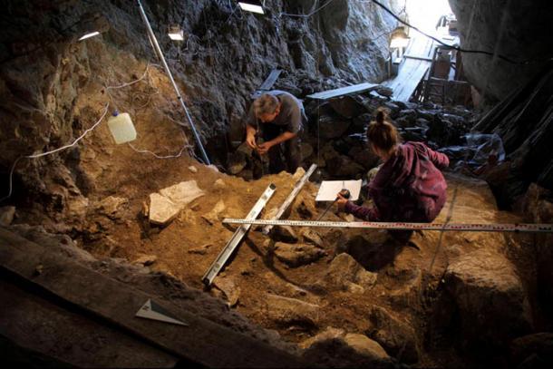 Excavations Altai Mountains