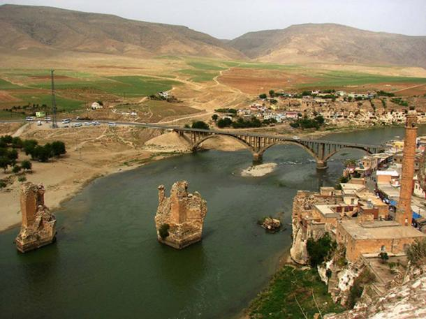 It is expected the Tigris River level will rise by 60 meters (197ft)