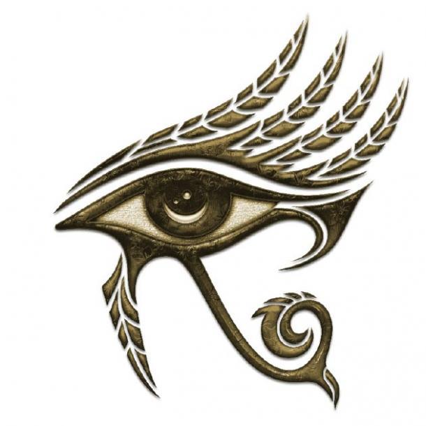The ancient Egyptian Eye of Horus. (Anne Mathiasz / Adobe stock)