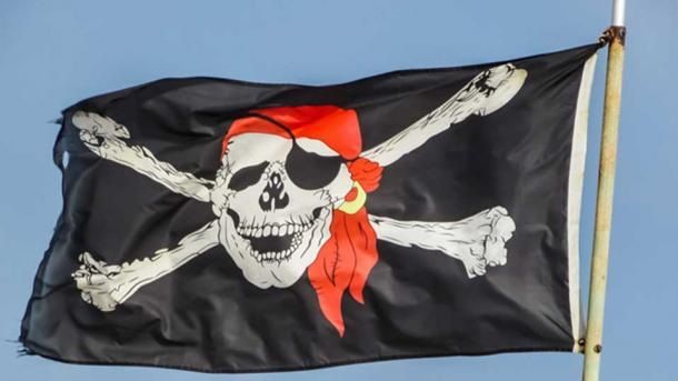 Pirates are classically represented with the eyepatch. (Public Domain)