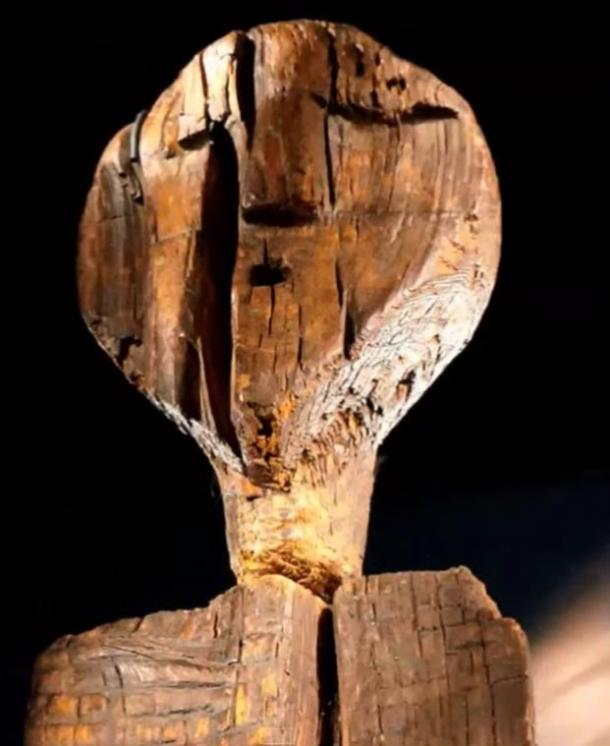 The face of the Shigir Idol.