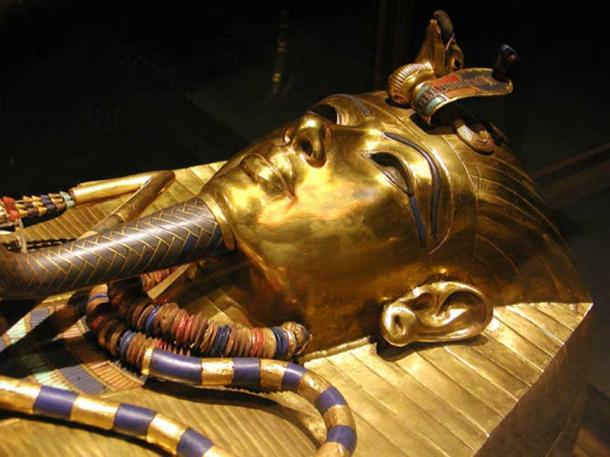 Tutankhamun's innermost coffin.
