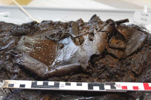 2,000-Year-Old Shoe Unearthed in German Bog