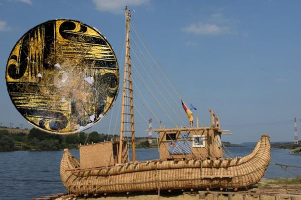 The Abora IV, based on the ancient Egyptian reed boat
