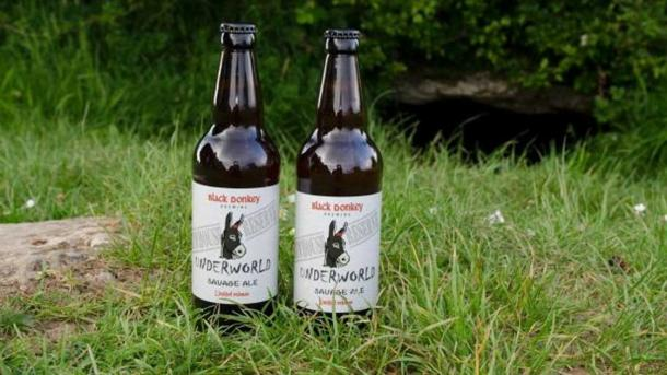 Black Donkey's Underworld Ale.