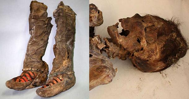 Ancient Mummy 'With 1,100-year-old Adidas Boots' Died