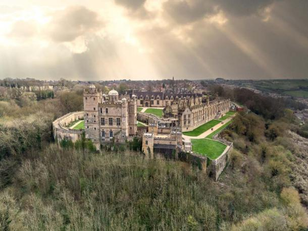 Bolsover Castle and its grand view over Bolsover town and the surrounding landscape. Source: Matthew / Adobe Stock