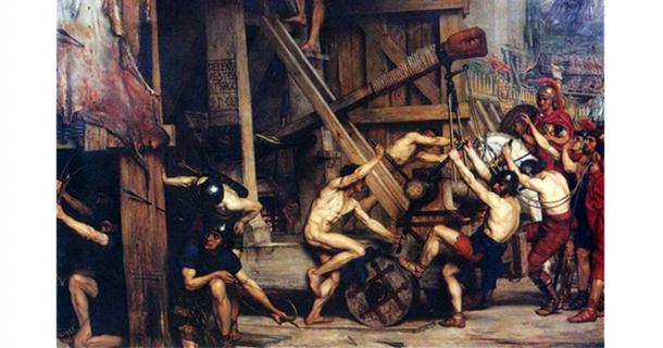 Catapulta by Edward Poynter