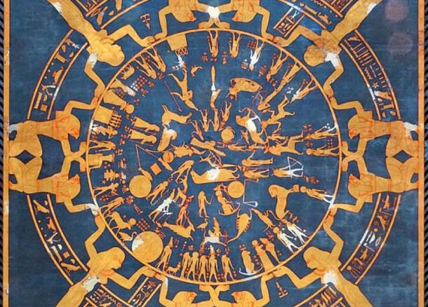 A Circular Egyptian Mythology Does The Dendera Zodiac