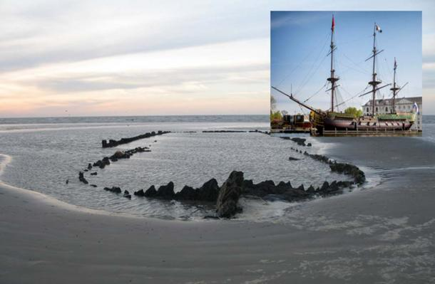 The Eerie Remains of an Ill-Fated Ship Still Preserves its Cargo Beneath the Mud